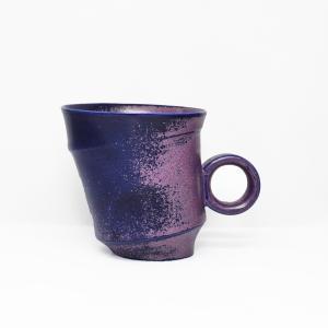 陶芸作家 古賀崇洋 Mug Cup マグカップ ver02  Purple パープル 紫の器 作家の器 作家物 |nontitletokyo