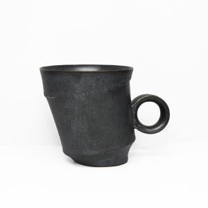陶芸作家 古賀崇洋 Mug Cup マグカップ ver02  Black ブラック 黒の器 作家の器 作家物 |nontitletokyo