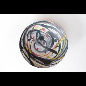 作家物 西 隆行 / Nishi Takayuki マーブルカラー 大皿 26.5cm 20cm  陶芸作家 器 和食器 |nontitletokyo