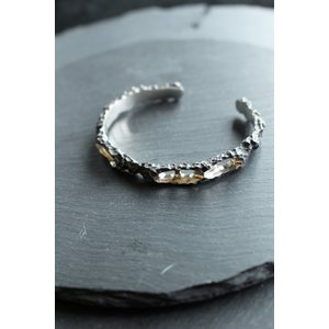 【Node by Kudo Shuji 】BR-04 Silver925 Bracelet  シルバーバングルブレスレット|nontitletokyo