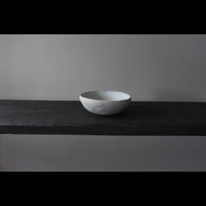 英国の陶芸作家 アーティスト SARAH JERATH  サラジェラス CHALK  10cm   BOWL ボウル No3    白 ホワイト 作家の器 作家物 一点物 nontitletokyo