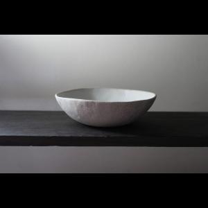 英国の陶芸作家 アーティスト SARAH JERATH  サラジェラス CHALK  17cm   BOWL ボウル No1    白 ホワイト 作家の器 作家物 一点物 nontitletokyo