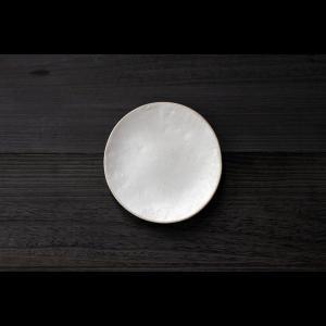 英国の陶芸作家 アーティスト SARAH JERATH  サラジェラス CHALK  20cm Plate プレート 中皿 No3    白 ホワイト 作家の器 作家物 一点物 nontitletokyo