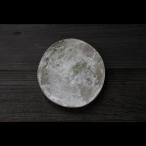 英国の陶芸作家 アーティスト SARAH JERATH  サラジェラス TREE ASH  24cm Plate プレート 大皿 No3  グレー 作家の器 作家物 一点物 nontitletokyo