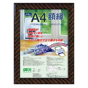 ナカバヤシ 額縁 賞状 金ラック(樹脂製) JIS A4判 フ-KWP-13 N|noon-store