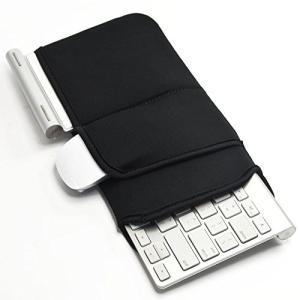 Ambertech Bluetooth ワイヤレスキーボードケース 防塵防衝撃カバー 持ち運びに便利 汎用型 アップル Appleワイヤレ|noon-store