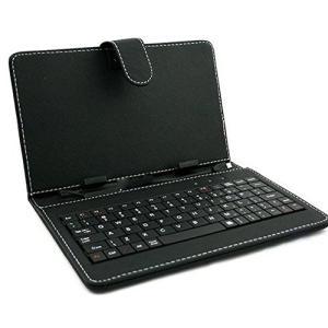 ZAZ microUSB 端子 アンドロイドタブレット用 7インチ専用 タブレット キーボード付ケース スタンド機能付き 要ホスト機能がある|noon-store