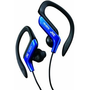 JVC HA-EB75-A イヤホン 耳掛け式 防滴仕様 スポーツ用 ブルー|noon-store