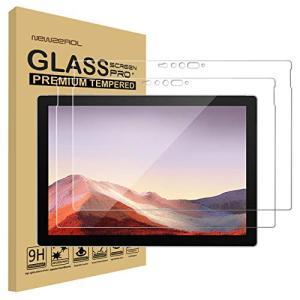 2枚セットNewzerol For Surface Pro 7 専用 強化ガラスフィルム 新型旭硝子素材・0.26mm・2.5D・耐衝撃硬度|noon-store