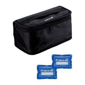 アスベル 保冷ランチバック2段用(保冷剤付) ブラック3165 noon-store