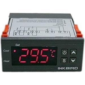 Inkbird デジタル 温度コントローラー 2リレー 温度調節器 サーモスタット センサー付き °C/°F表示 (ITC-1000 12V noon-store