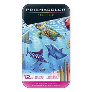 SANFORD Prismacolor プリズマカラー アンダー・ザ・シー セット 12色 Premier Colored Pencils,|noon-store