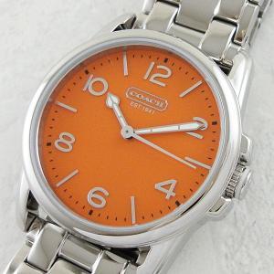 コーチ レディース シドニー オレンジ 14501869 あすつく 腕時計