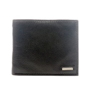 2e1bcafe53d4 カルバンクライン メンズ 二つ折り財布 サイフ ブラック レザー 79215 あすつく アウトレット