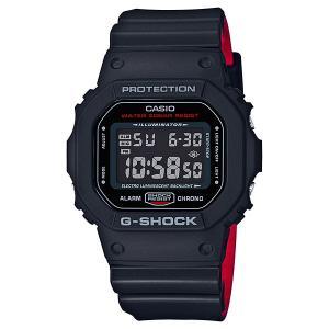 人気モデル! スポーツ・アウトドアにも最適! カシオ Gショック メンズ デジタル ブラック レッド DW-5600HR-1 あすつく 腕時計|nopple