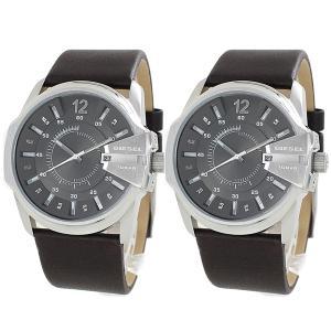 ディーゼル ペアウォッチ マスターチーフ 本革 DZ1206DZ1206 あすつく 腕時計