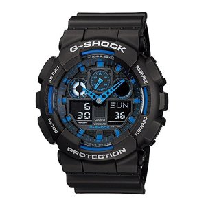 【訳ありボックス アウトレット】Gショック ジーショック 海外モデル 防水 黒 青 ブラック×ブルー あすつく 腕時計|nopple