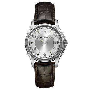 ハミルトン メンズ ジャズマスター ジェント クロコレザー H32411555 あすつく 腕時計|nopple