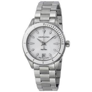 ハミルトン レディース ジャズマスター シービュー シルバー H37411111 あすつく 腕時計|nopple