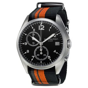 ハミルトン メンズ カーキ パイオニア ナイロン H76552933 あすつく 腕時計|nopple