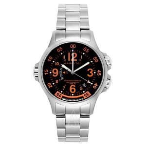 ハミルトン メンズ カーキ GMT エアレース 自動巻き H77665173 あすつく 腕時計|nopple