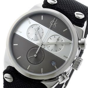 【数量限定】カルバンクライン メンズ CK イーガー ブラック クロノグラフ K4B381B3 あすつく 腕時計|nopple