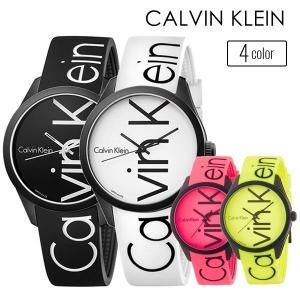 【数量限定】お一人様1点限り カルバンクライン メンズ レディース COLOR カラー 40mm ブラックケース ブラック ラバー K5E51TBZ あすつく 腕時計|nopple