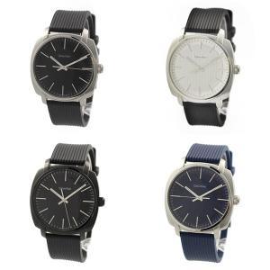 【選べる4カラー】カルバンクライン CK メンズ ハイライン スーツ カジュアル ラバー K5M311D1 あすつく 腕時計|nopple