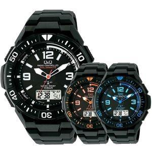 選べる6モデル 国内正規品 シチズン Q&Q キューアンドキュー メンズ 電波ソーラー アナデジ 電池交換不要 時刻調整不要 MD06 あすつく 腕時計|nopple
