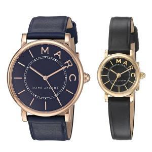 時計収納BOX付き マークジェイコブス ペアウォッチ ロシキー/クラシック ネイビー ブラック レザー MJ1534MJ1585 あすつく 腕時計 nopple