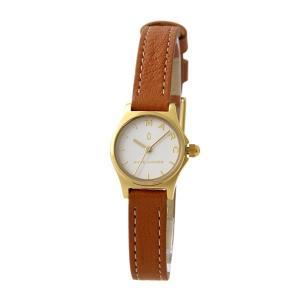 マークジェイコブス レディース Henry ヘンリー ゴールドケース ブラウン レザー MJ1626 あすつく 腕時計 nopple