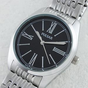 セイコー パルサー メンズ イージースタイル ブラック文字盤 PG2011 あすつく アウトレット 腕時計|nopple