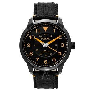 セイコー パルサー メンズ ブラック レザー PG2023 あすつく 腕時計|nopple