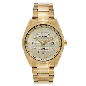 セイコー パルサー メンズ イエローゴールド PH9072 あすつく 腕時計|nopple
