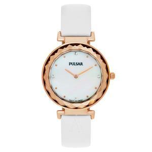 セイコー パルサー レディース ナイトアウト ホワイト レザー PM2084 あすつく 腕時計|nopple