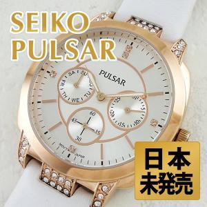 セイコー パルサー レディース ピンクゴールド  PP6134 腕時計|nopple