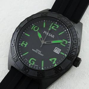 セイコー パルサー メンズ ON THE GO ブラック PS9317 あすつく  腕時計|nopple