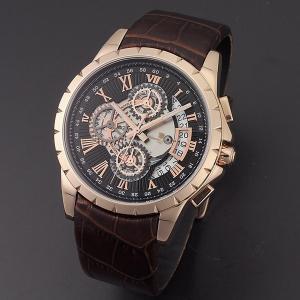 サルバトーレマーラ メンズ クロノグラフ SM13119S-PGBK 腕時計 nopple
