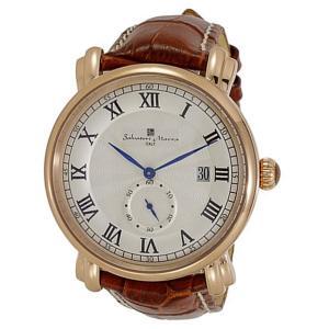 サルバトーレマーラ メンズ SM13121-2-PGWH あすつく 腕時計 nopple