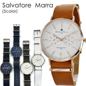 国内正規品 サルバトーレマーラ 時計 選べる5カラー レザーウォッチ SM15117 あすつく 腕時計 nopple