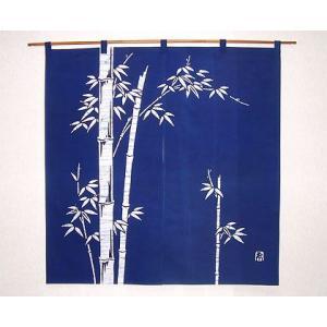 竹のれん 紺(丈90cm)|norenya-kyo