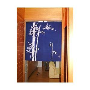 竹のれん 紺(丈90cm)|norenya-kyo|04