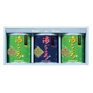 プレミアム海ごころ 焼のり1缶味のり2缶|nori