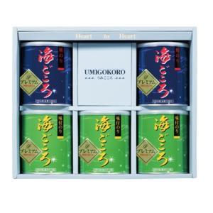 プレミアム海ごころ 有明海佐賀県産一番摘み    焼のり2缶味のり3缶|nori