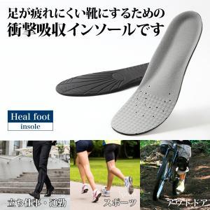 インソール 足が疲れにくい靴にするための 衝撃吸収インソール...