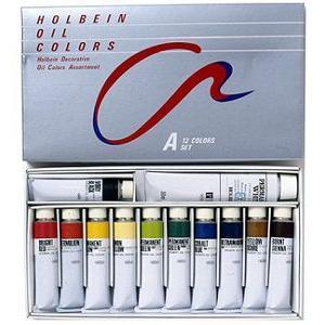 ホルベイン 習作用油絵具セット Aセット