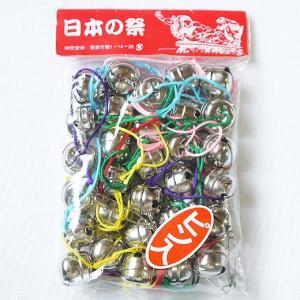 ねぶた祭り 七分鈴 ニッケル30個紐付ピン入|northern-festival