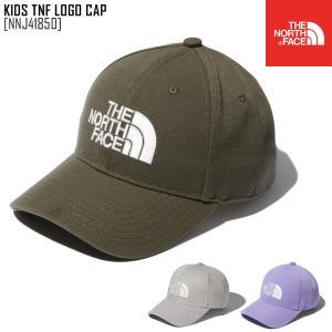 2021 春夏 新作 ノースフェイス THE NORTH FACE キッズ TNF ロゴ キャップ KIDS TNF LOGO CAP 帽子 キャップ NNJ41850 キッズ|northfeel-apparel