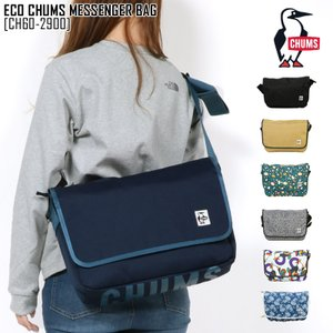 セール SALE チャムス CHUMS エコ チャムス メッセンジャー バッグ ECO CHUMS MESSENGER BAG バッグ ショルダーバッグ CH60-2900 メンズ レディース northfeel-apparel