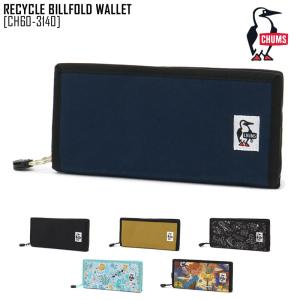 2021 春夏 新作 チャムス CHUMS リサイクル ビルフォルド ウォレット RECYCLE BILLFOLD WALLET 財布 長財布 CH60-3140 メンズ レディース|northfeel-apparel